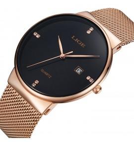 Relógio Masculino LIGE Slim