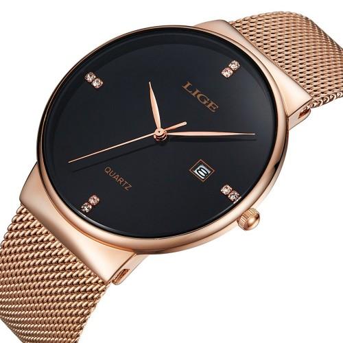 Relógio Masculino LIGE Slim   Compra24h 4141943b08