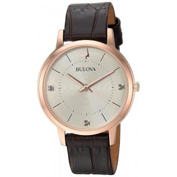 Relógio Feminino Bulova Diamond 97P122