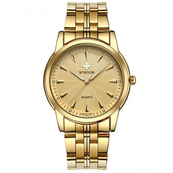 Relógio Masculino WWOOR Business Quartz