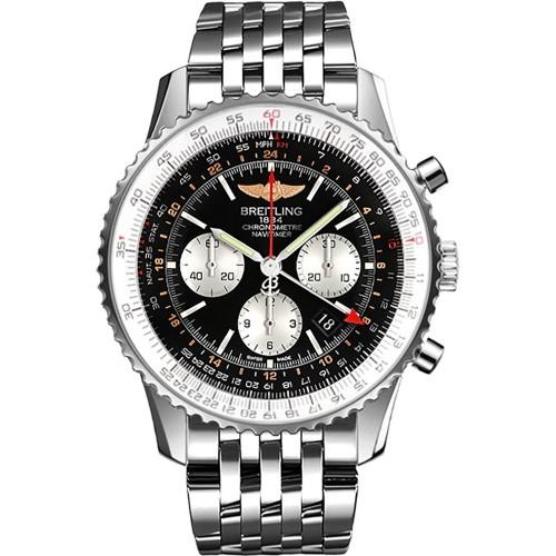 8b74c6fb71e Relógio Masculino Breitling Navitimer GMT