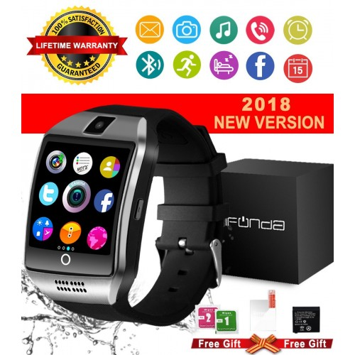 4dc8d7eb078 Relógio Smart Watch Bluetooth Android e IOS