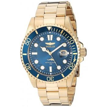 Relógio Invicta Pro Diver Ouro 22k 30024