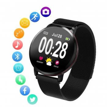 Relógio Smart Amerzam Bluetooth Multifunction (Android e IOS)