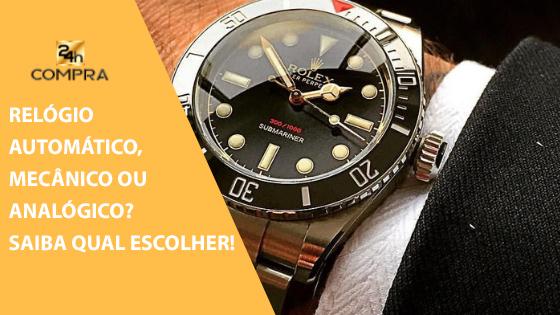942dbedd59 Relógio manual, automático ou de quartzo? Qual escolher na hora de comprar  um relógio masculino?