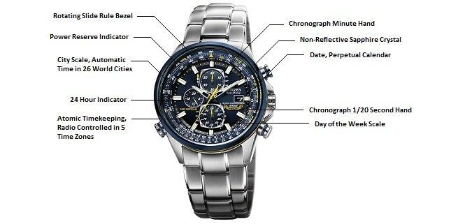 11992a515d7 Relógio Masculino Citizen AT8020-03L World Eco-Drive
